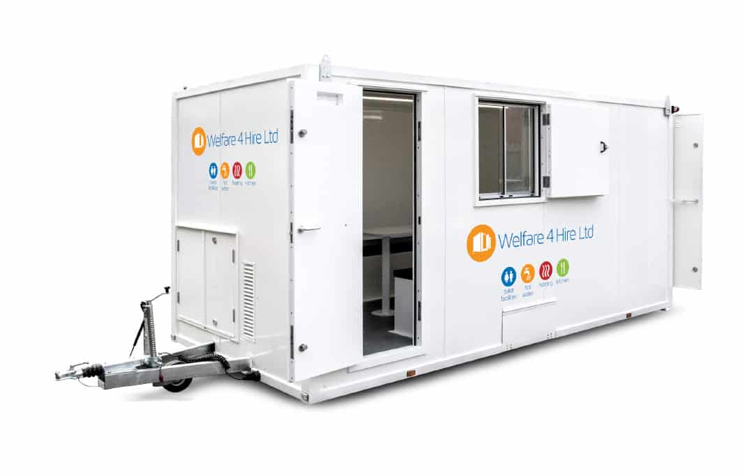 Mobile Welfare Unit Hire | Portable Self-Contained Goundhog Units|